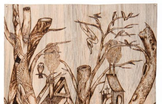 Juxtapoz 15th Anniversary Art Auction: Monica Canilao