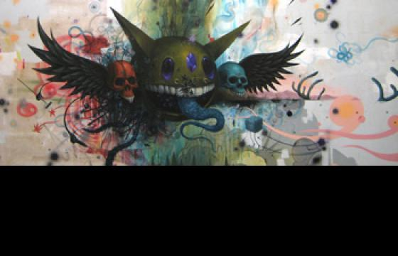 Exhibit x NYC Mural: Lifecycle with Jeff Soto