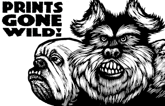 "Cannonball Press Presents ""PRINTS GONE WILD 2013!"""