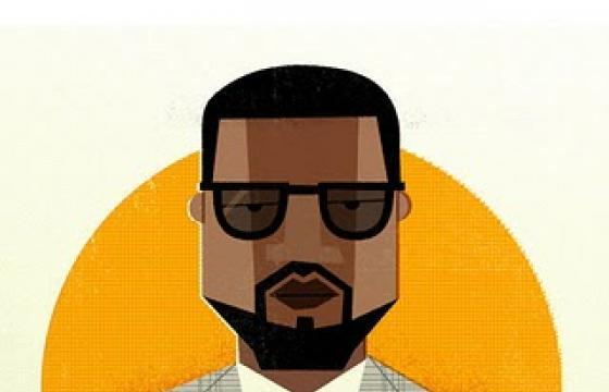 14 Hip Hop Heads Graphically Designed by Dale Edwin Murray
