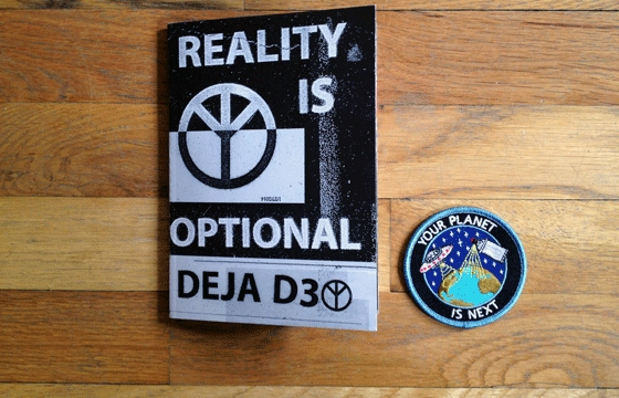 "A look inside ""Reality is Optional"" zine"