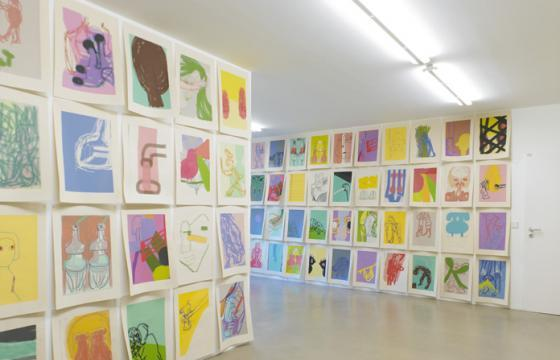 Amy Sillman at Capitain Petzel Gallery, Berlin