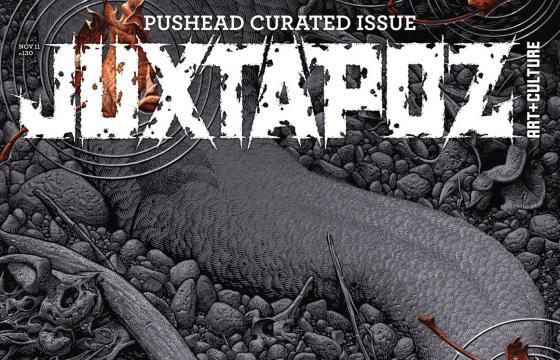 On Sale Now: Pushead Curated November 2011 Issue