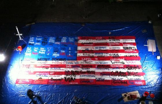 "Saber ""#OccupyFlag"" Project and Video"