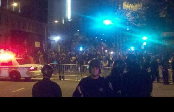 Occupy Oakland Assaulted