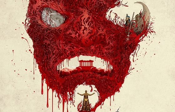Alex Pardee's '300: Rise of an Empire' Poster