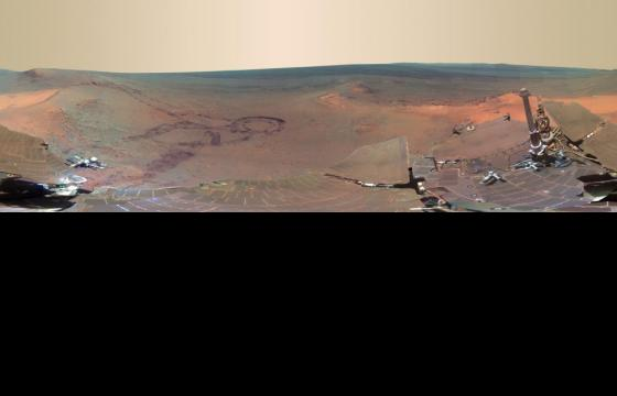 Mars Panorama by NASA's Mars Exploration Rover Opportunity