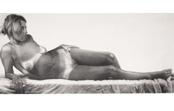 Chuck Close: Nudes 1967-2014 @ Pace Gallery, NYC
