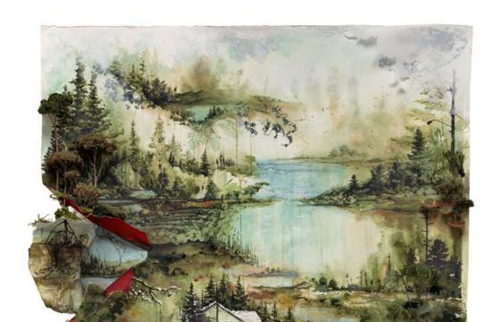 Gregory Euclide for Bon Iver Print Release