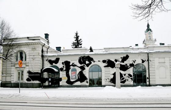 Egs on the Pori Art Museum