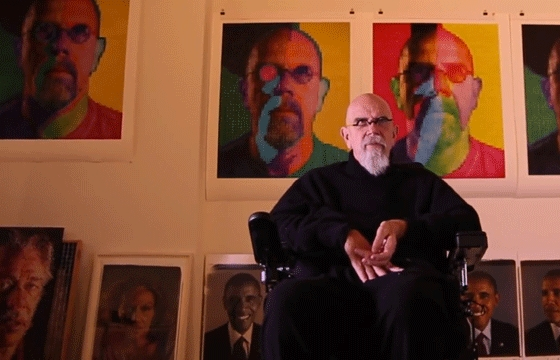 Video: Chuck Close - Up Close And Personal