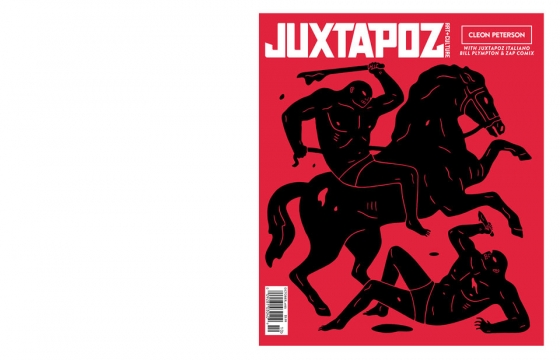 Issue Preview: October 2014 Featuring Cleon Peterson