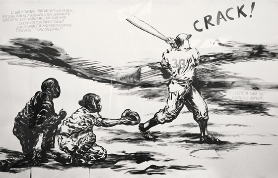 Raymond Pettibon on Baseball