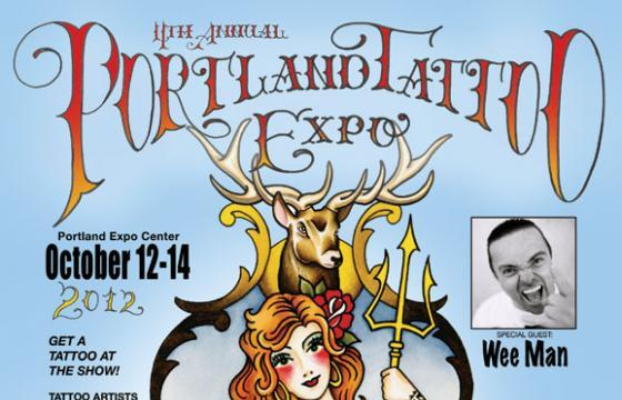 Portland Tattoo Expo Oct 12-14