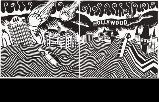 "Opening: Stanley Donwood ""Lost Angeles"" @ Subliminal Projects, LA"