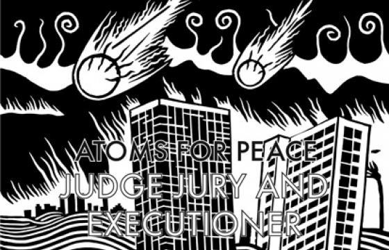"Music Video: Atoms For Peace ""Judge Jury and Executioner"""