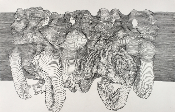"Juxtapoz Magazine - ""Juxtapoz Black & White"" Book Profile: The Detailed And Moving Line Drawings of Carl Krull"