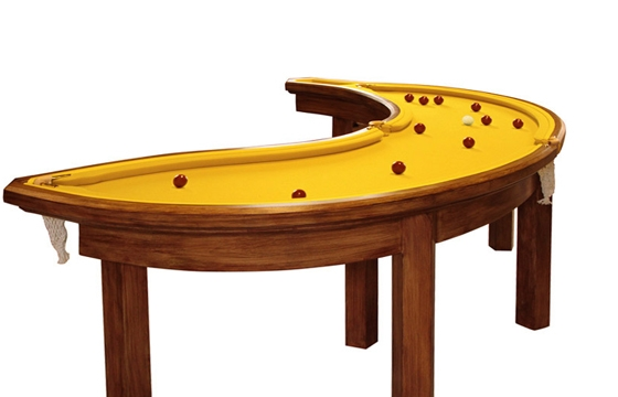 The banana pool table by Cleon Daniel