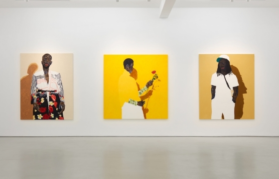 SINGULAR DUALITY: ME CAN MAKE WE: Amoako Boafo @ Roberts Projects, Los Angeles