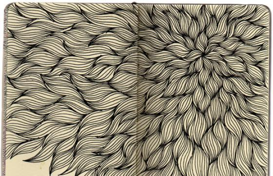 Moleskine Drawings by Stephanie Kubo