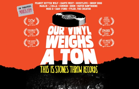 "See/Buy: ""Our Vinyl Weighs a Ton: This is Stones Throw Records"""