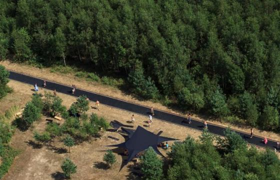 A 170-foot Trampoline in a Russian Forest