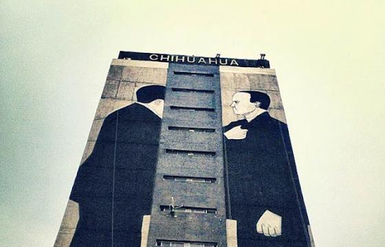 Escif Channels the Tlatelolco Massacre @ All City Canvas, Mexico City