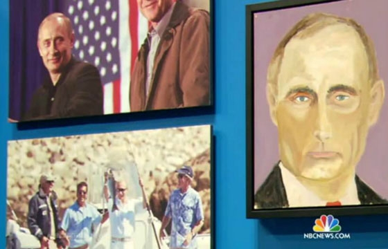George W. Bush Will Unveil 24 Portraits of World Leaders