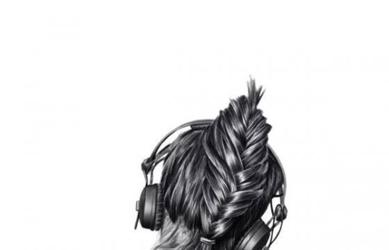 Girls with Headphones