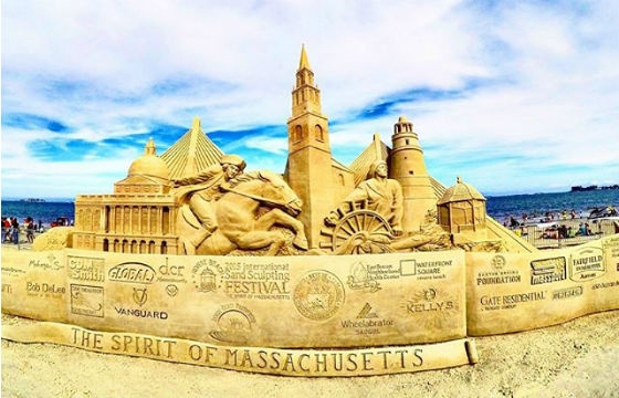 2015 Revere Beach International Sand Sculpting Festival