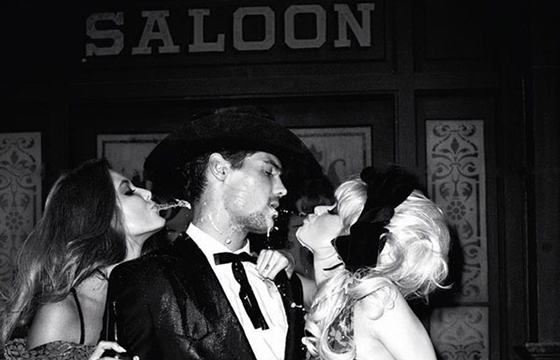 Terry Richardson's Old West Sexy