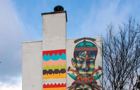New Mural by Other in Heerlen, Holland