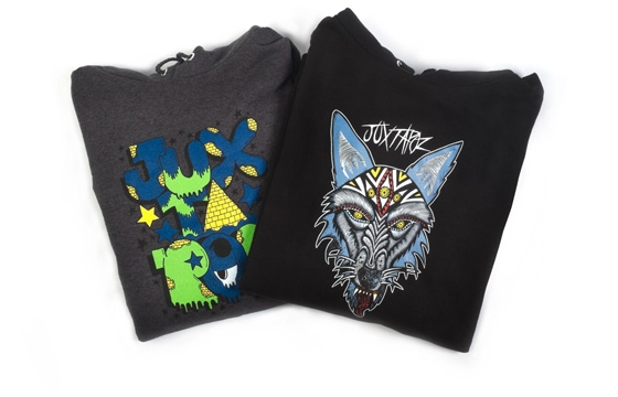 Dennis McNett & PEZ Hoodies for Juxtapoz