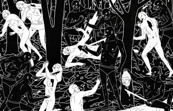 "Cleon Peterson ""There Is A War"" @ The Outsiders, London"