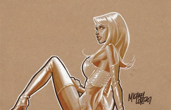 Michael Lopez's Comic Pin-Ups