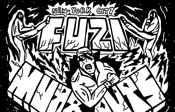 Fuzi @ Muddguts, Brooklyn