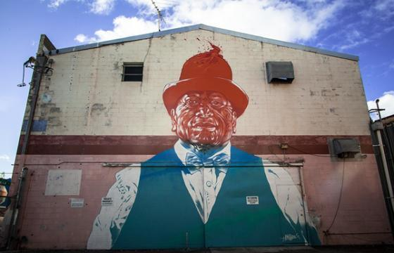 Portrait of Tame Iti by Askew