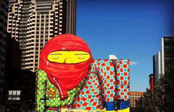 Os Gemeos Mural Yields an Unimpressive Response