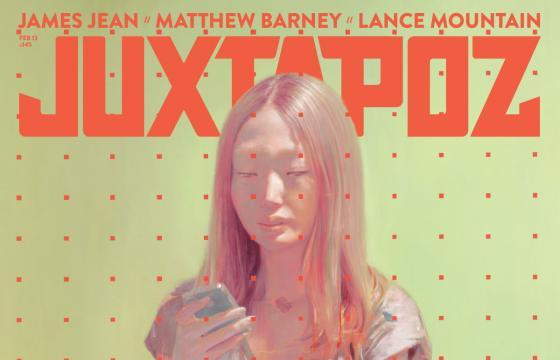 Issue Preview: February 2013 w/ James Jean, Matthew Barney, and Lance Mountain