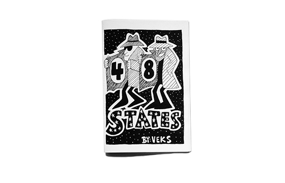 """48 States"" by Veks published by Theflopbox"