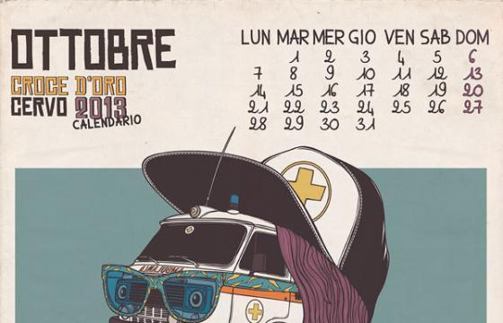 Andrea Moresco's 2013 Calendario Croce dOro