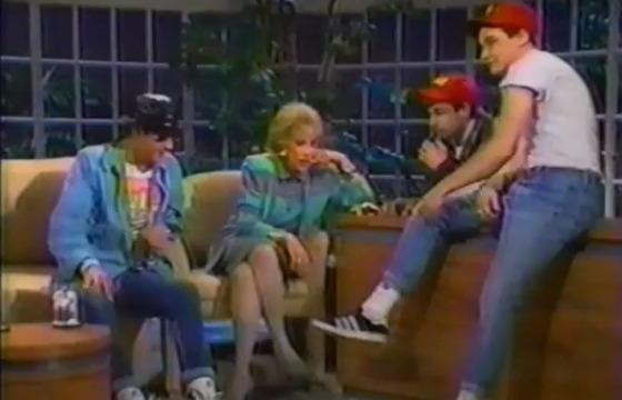 What's The Time?: The Beastie Boys on The Joan Rivers Show in 1987