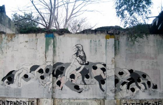 In Street Art: Hyuro in Argentina