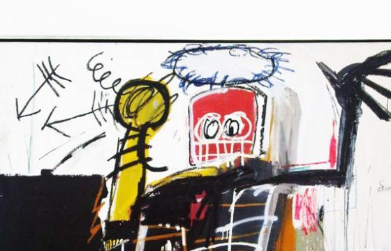 Jean-Michel Basquiat @ Gagosian, New York