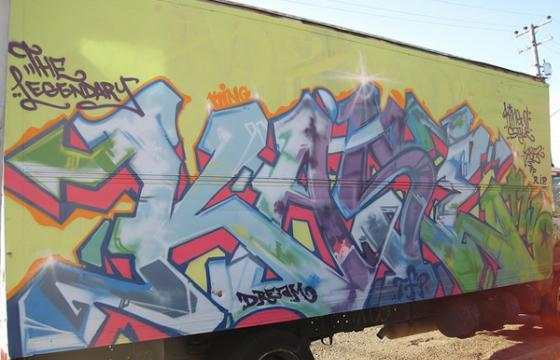 In Graffiti: Tributes to Kase 2