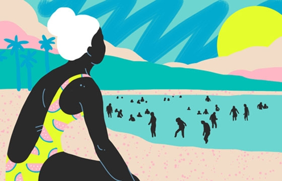 Sara Andreasson's Summertime Illustrations