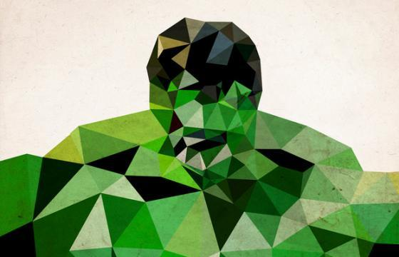 Heroes in Polygons by James Reid