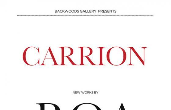 "Backwoods Gallery Presents ""Carrion"": a new exhibition by Roa"