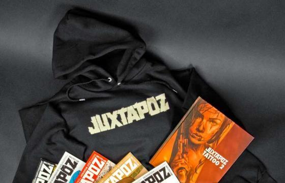 Win a Juxtapoz subscription, book, and J Fish sweatshirt