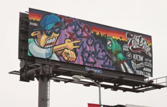 Revok x Seventh Letter LA Billboard Project